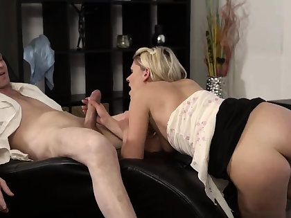 Blonde cam big tits and man massage young girls She is so