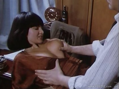 Busty babes getting pussy licked then throbbed in an epic retro action compilation