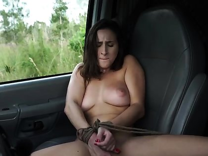 French maid bondage plus huge dildo domination This new