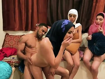 Milf group hd Hot arab nymphs try foursome