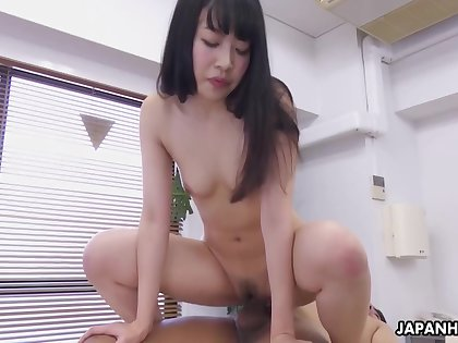 Japanese Chick Yui Ayase Is Sucking Dick, Uncensored