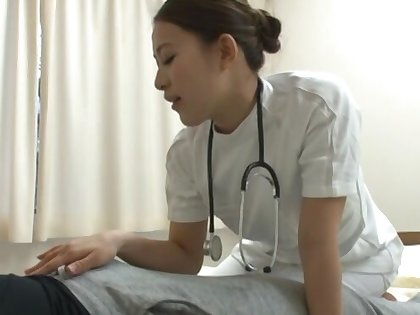 Amateur shagging on the sanitarium bed with cock hungry Misa Mano